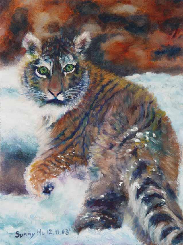 83西伯利亞虎