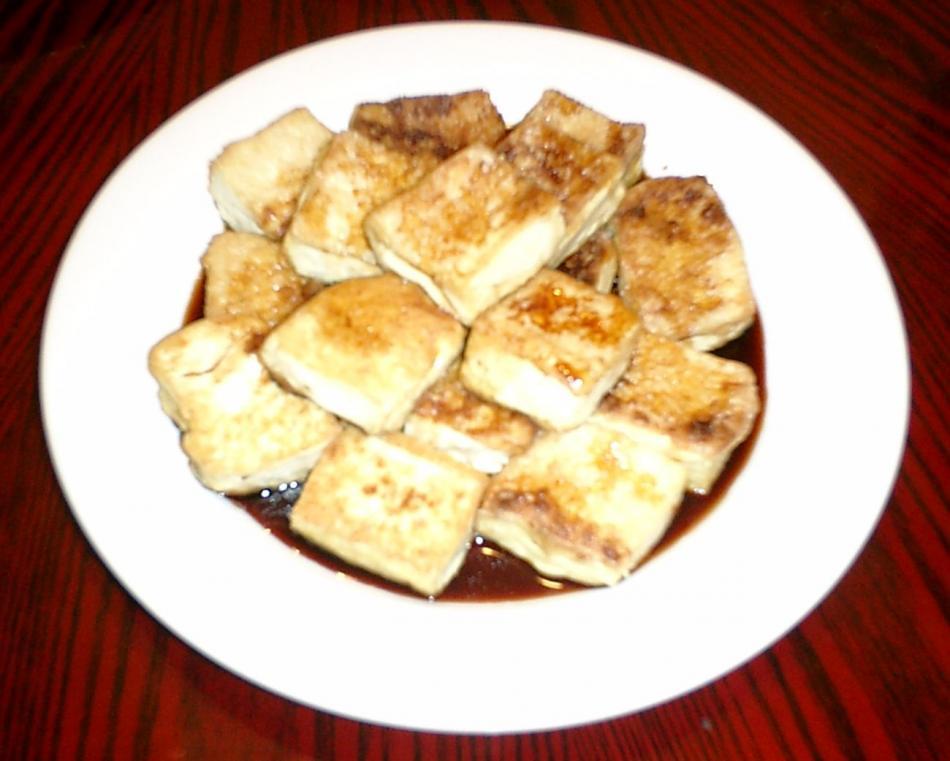 家常素食 1素煎豆腐