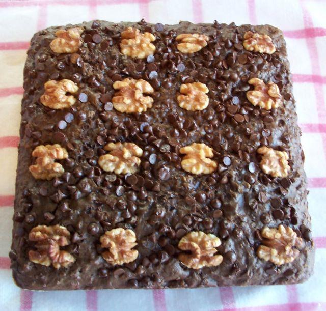 美味甜點 8巧克力燕麥核桃蛋糕