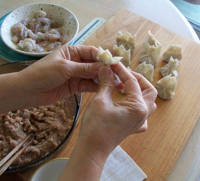 美味餐點小吃 5馬蹄鮮蝦大雲吞