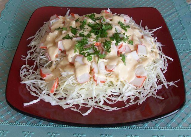 健康家常菜 炎夏清涼特餐20假蟹肉拌高麗菜絲
