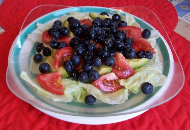 家常素食 19藍莓酪梨生菜沙拉