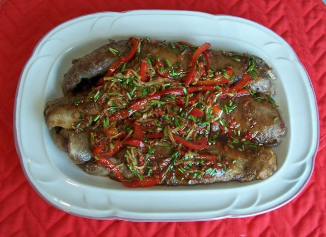 健康家常菜 023美味鮭魚膘