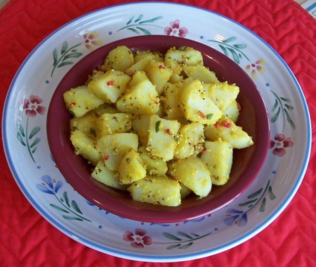 家常素食 20天竺香籽薯塊