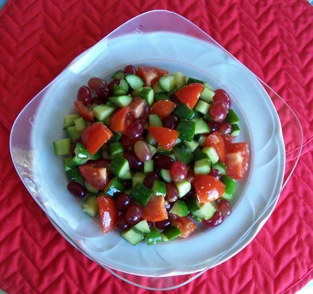 家常素食 26素拌瓜果