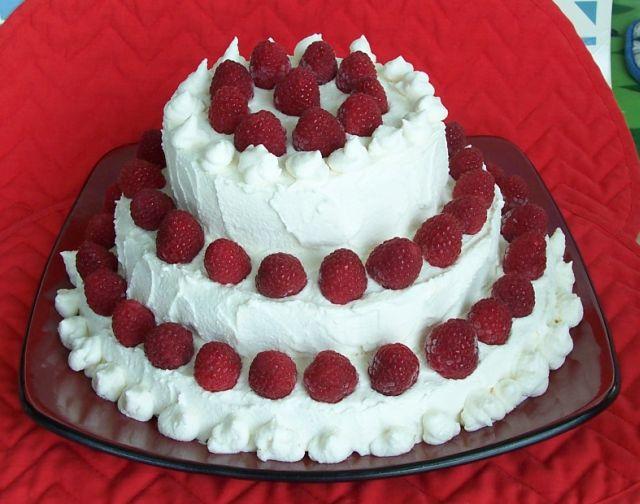 胡奶奶美味甜點 32覆盆子三層蛋糕