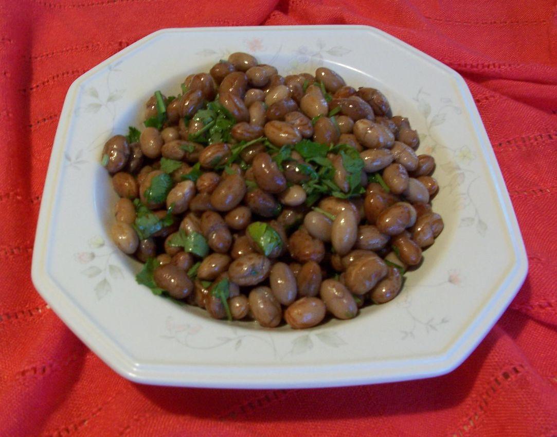 家常素食 28香菜花豆