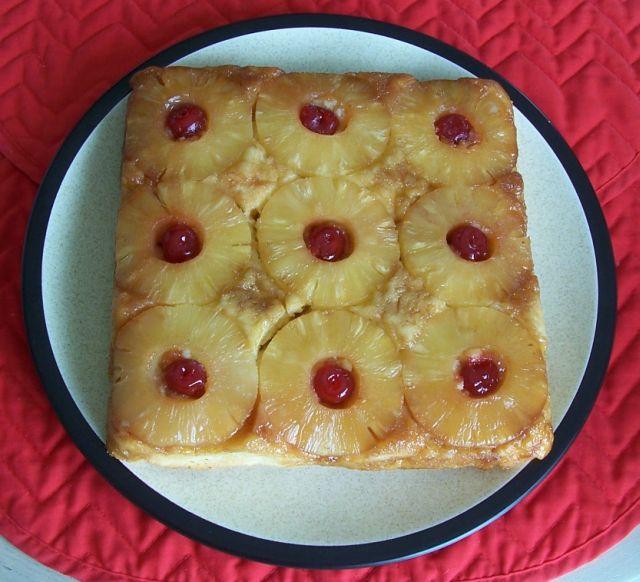 胡奶奶美味甜點 39鳳梨倒置蛋糕