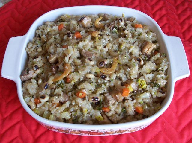 美味餐點小吃 023黑眼豆糯米鹹飯