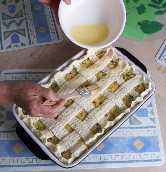 世界在我們的餐桌上 80-3塗上奶蛋液