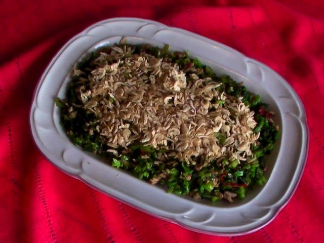 家常菜 450-152雪裡紅拌蝦皮
