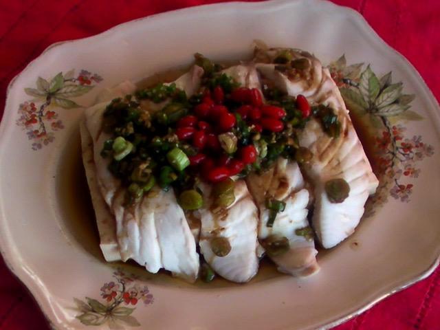 家常菜 魚鑲阿給燒白菜