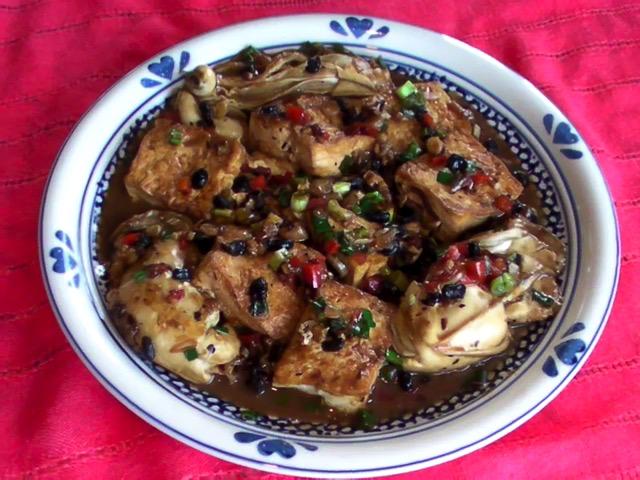家常菜 大蠔燒豆腐