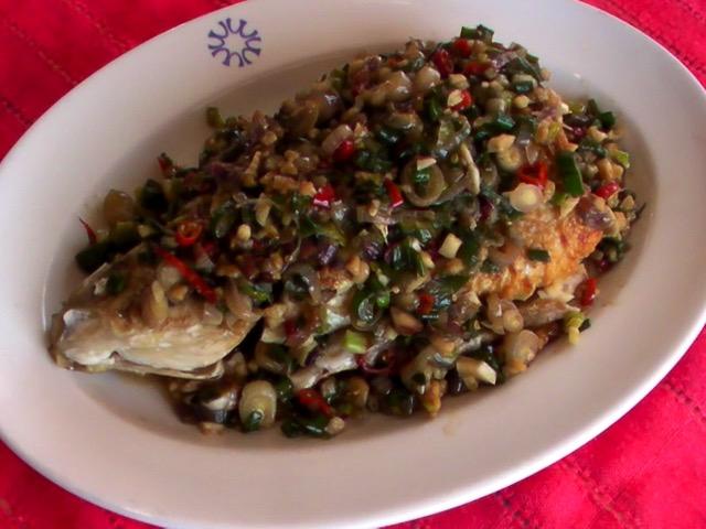 蔬食料理 剁椒茄子