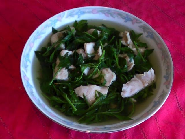 蔬食料理 青蔥炒硬豆腐