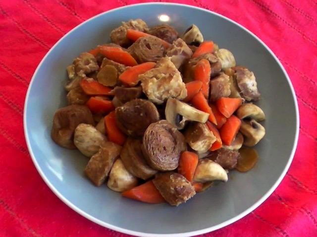 家常素食 麵輪菜根香