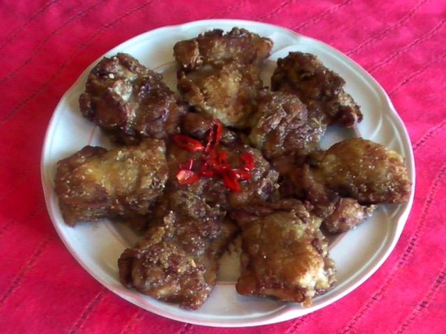 家常菜 家常雞腿排(低糖料理)