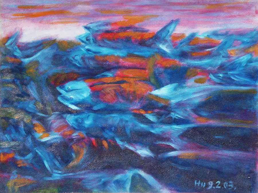64 迴游的鮭魚