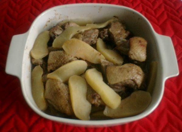 一、諾曼第風味蘋果鴨焙盤法國料理