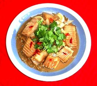 胡奶奶美味軒食譜 九十七紅燒魟魚