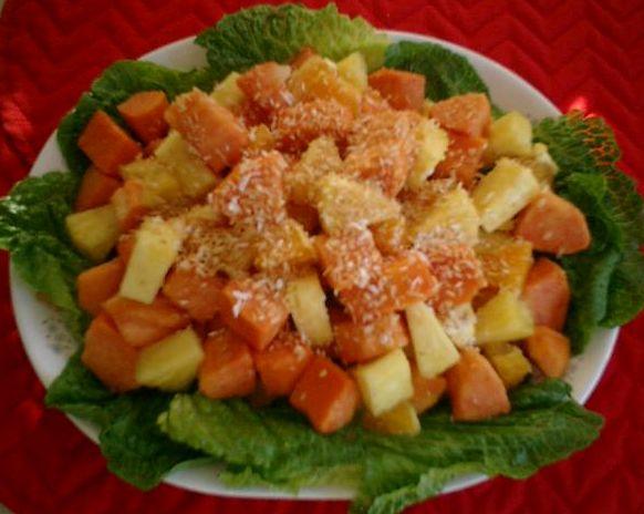 七蘭姆水果沙拉