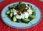 家常素食 11酪梨豆腐生菜素沙拉