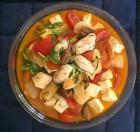 胡奶奶美味軒食譜  五蕃茄豆腐煮鮮蛤