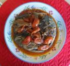 健康家常菜 047紅酒洋蔥煮蕃茄魚頭