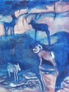 48大角鈴羊和山羊