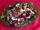 蔬食料理 生菜莓果沙拉