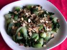 蔬食料理 杏仁白菜